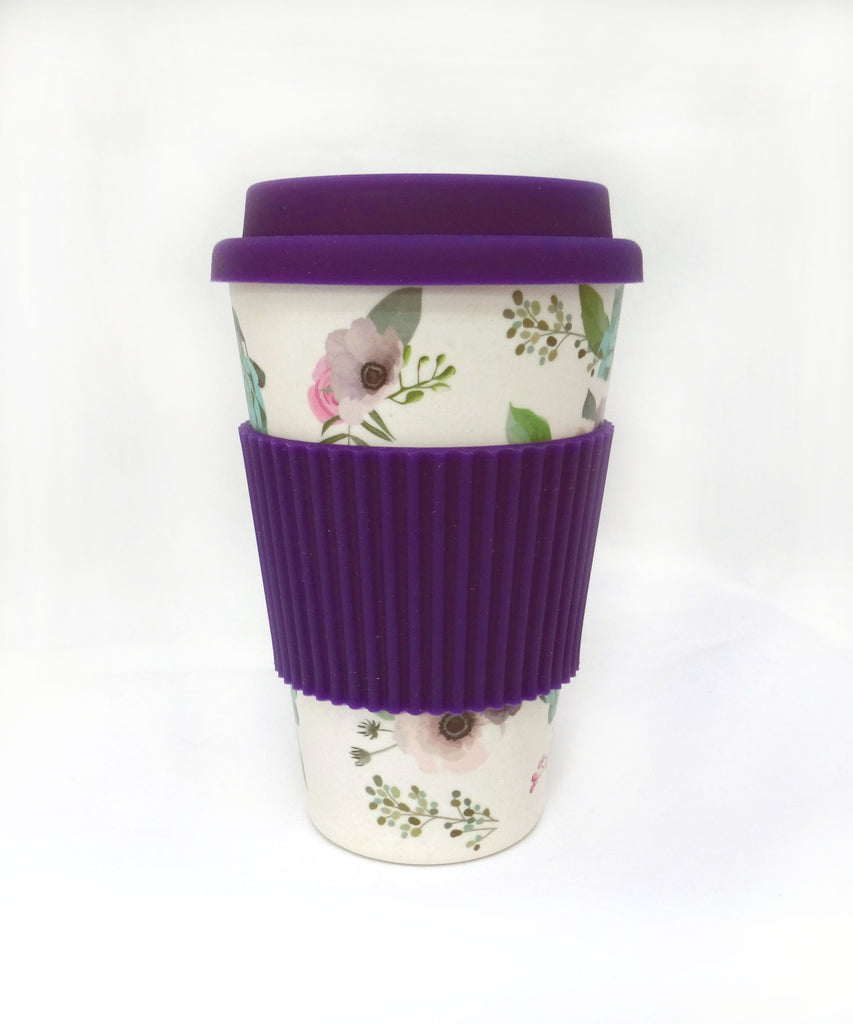 Bamboo fiber travel mug