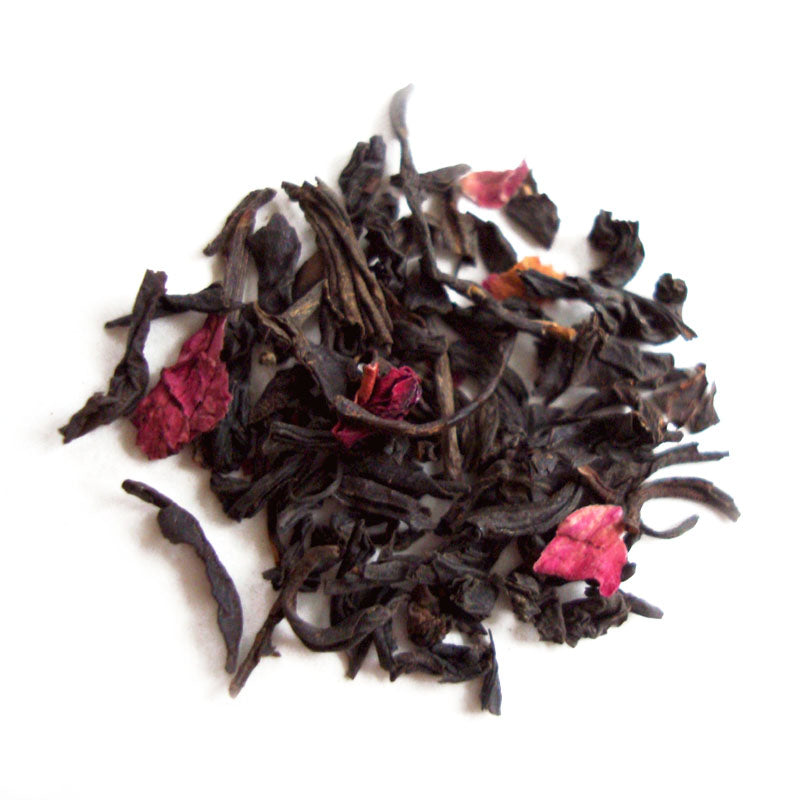 Lychee Rose Flavored & Scented Black Tea