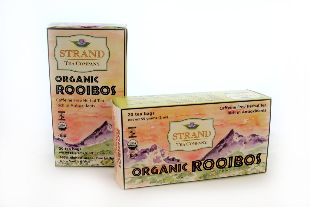 Red Rooibos Tea Bags ~ Organic
