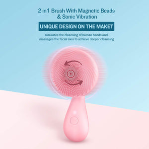 SilkyToo™ Silicone Face and Body Cleansing Brush - SILKYTOO