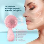 Rotating Face and Body Cleansing Brush - SILKYTOO