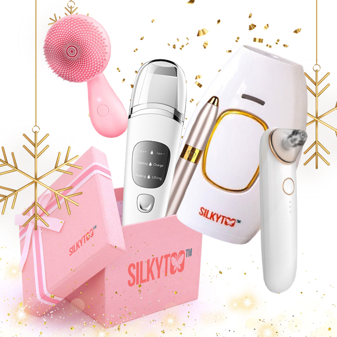 SilkyToo™ MEGA 5-in-1 Beauty Holiday Gift Set - SILKYTOO