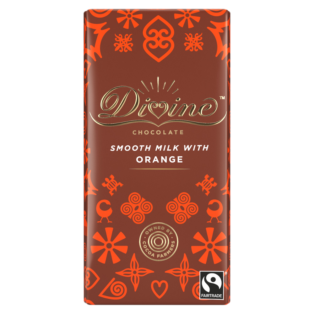 DIVINE – MILK CHOC ORANGE