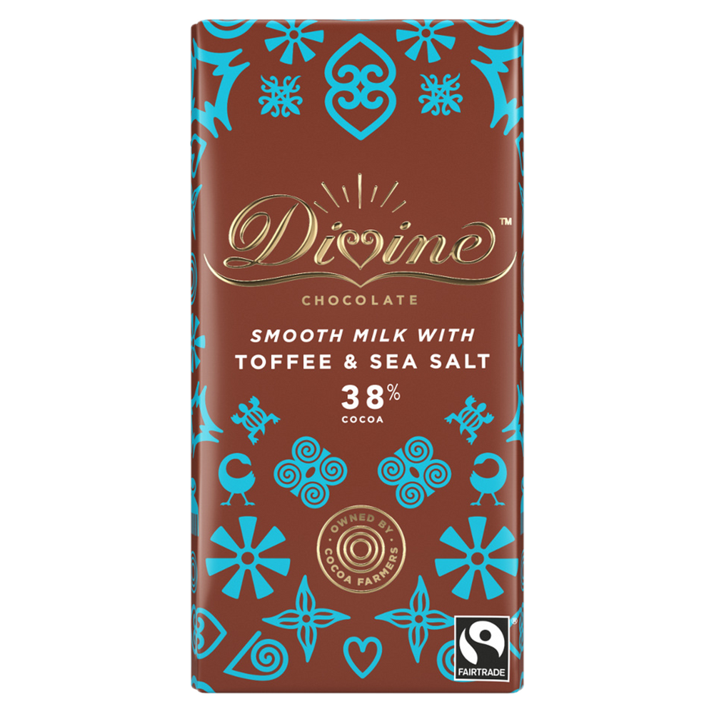 DIVINE – TOFFEE SEA SALT 38%