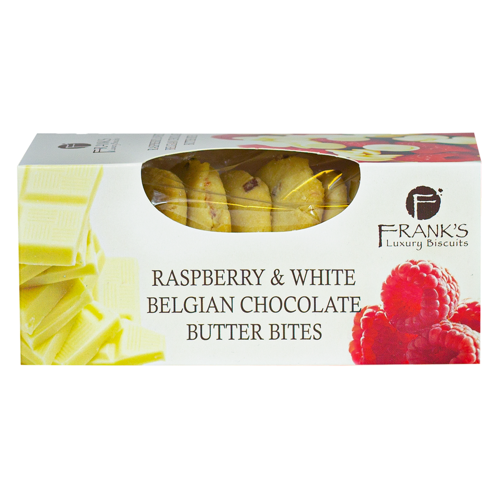 FRANK'S RASPBERRY & WHITE CHOCOLATE