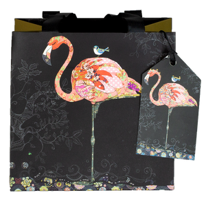 Load image into Gallery viewer, GIFT BAG FLAMINGO