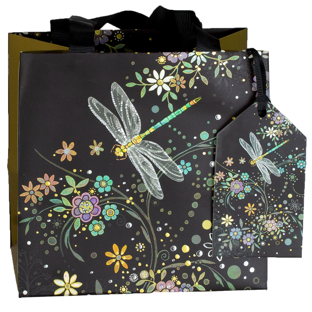 Load image into Gallery viewer, GIFT BAG DRAGONFLY