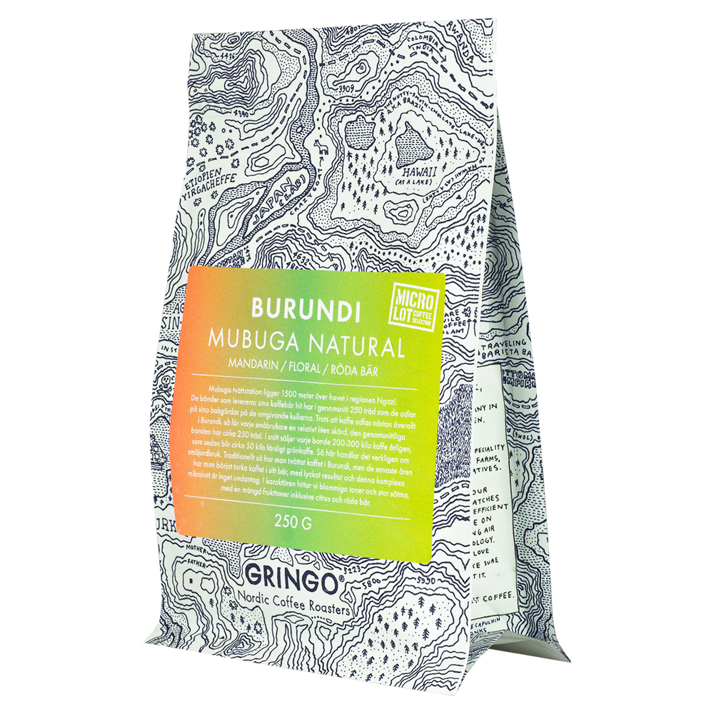 Load image into Gallery viewer, GRINGO – BURUNDI  MUBUGA NATURAL 250 GRAM