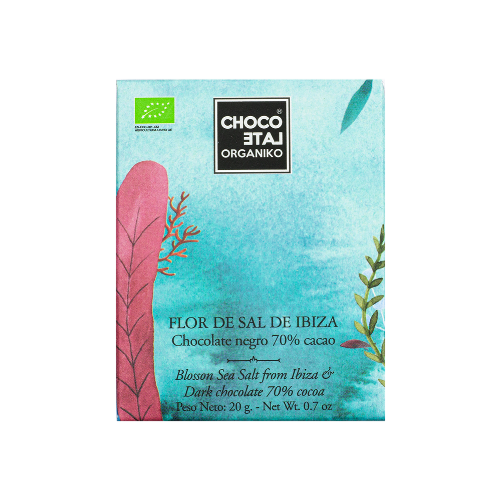 CHOCOLATE ORGÁNIKO – IBIZA SALT