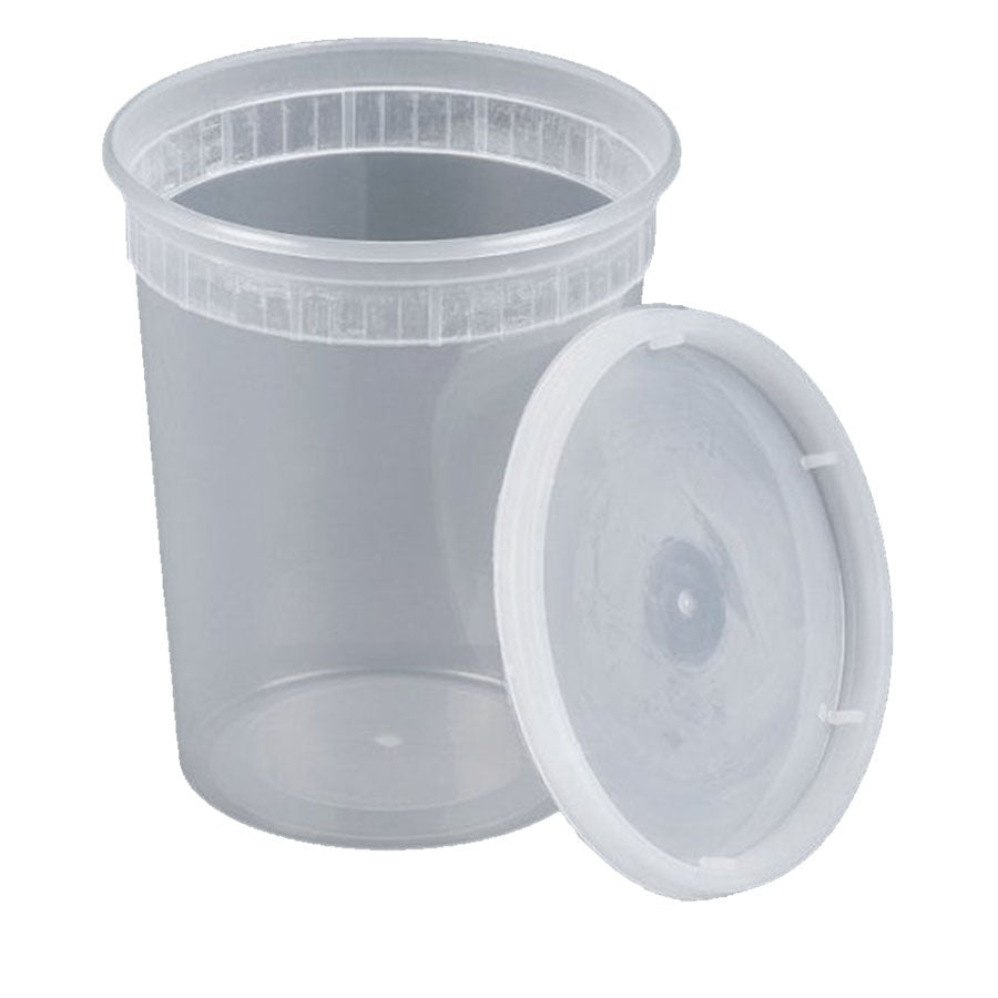 32oz Soup Container with Lid