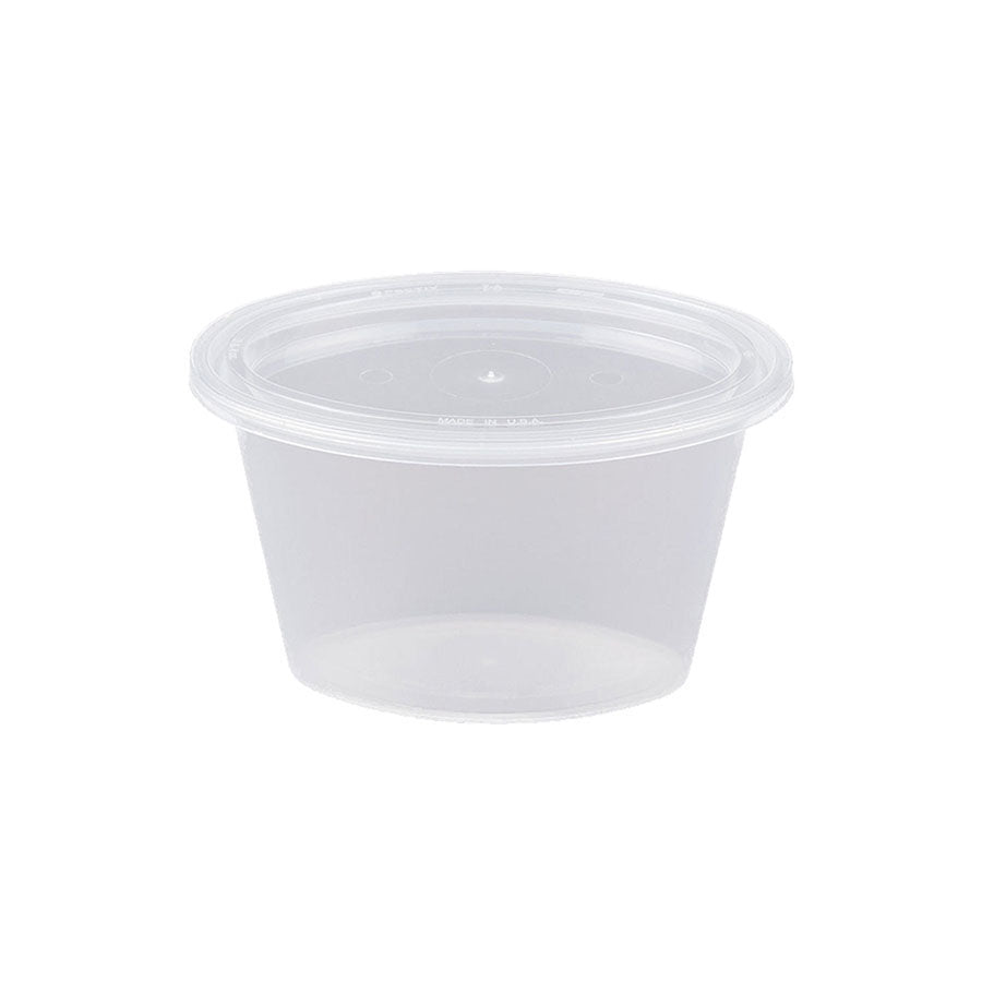Lid for 1.5oz Sauce Cup