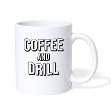 Load image into Gallery viewer, DUC Coffee and Drill Mug - white