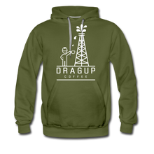 Load image into Gallery viewer, DUC Logo HOODIE - olive green