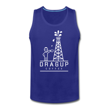 Load image into Gallery viewer, DUC Logo Tank (White Logo) - royal blue