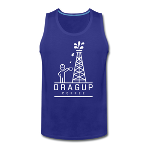 DUC Logo Tank (White Logo) - royal blue