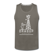 Load image into Gallery viewer, DUC Logo Tank (White Logo) - asphalt gray
