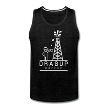 Load image into Gallery viewer, DUC Logo Tank (White Logo) - charcoal gray