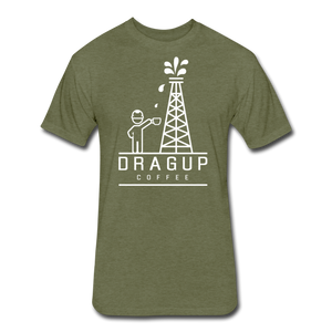 DUC Logo (White) - heather military green
