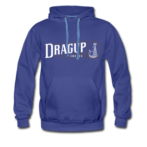 Drag Up Hoodie - royalblue
