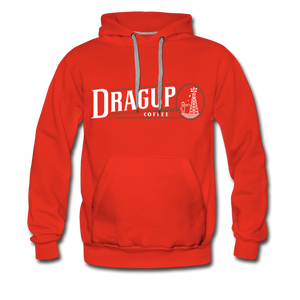 Drag Up Hoodie - red