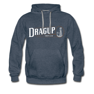 Drag Up Hoodie - heather denim