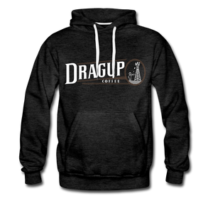 Drag Up Hoodie - charcoal gray