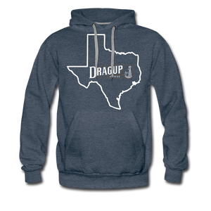TEXAS! HOOIDE - heather denim