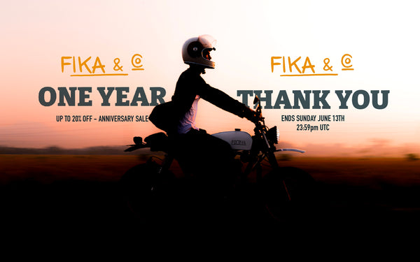 FIKA & CO. ONE YEAR, THANK YOU