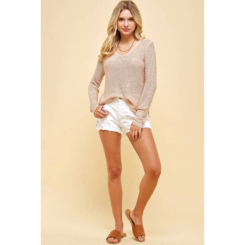 Low Gauge Sweater Knit Top