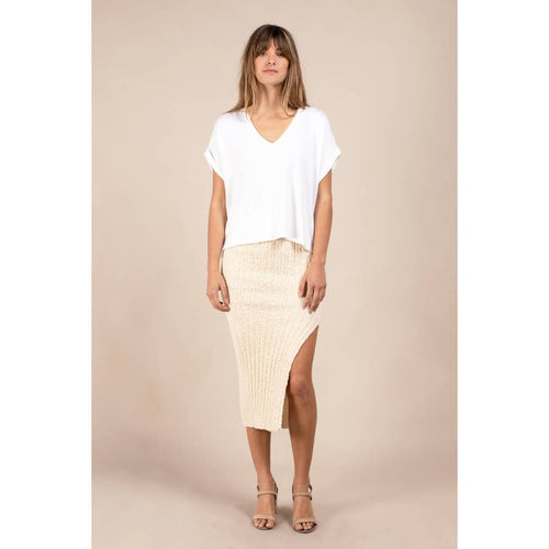 The Johnny slit skirt