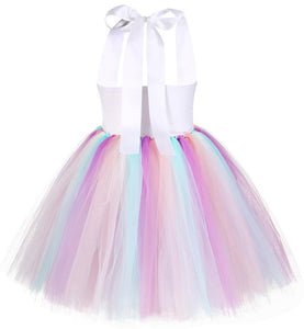 Unicorn Rainbow Dress for Kids Toddlers Little Girls