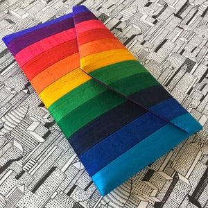 Rainbow Purse Clutch