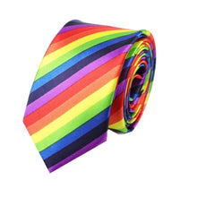Load image into Gallery viewer, Rainbow Tie