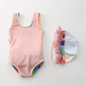 Rainbow Tutu Baby Toddler Kids Bathing Suit