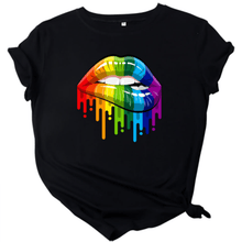 Load image into Gallery viewer, Rainbow Lip Shirt