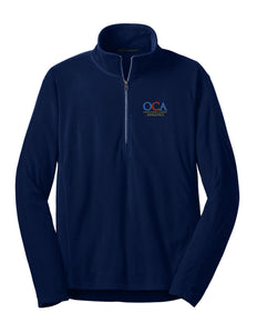 Men's Light Weight Microfleece ½-zip pullover
