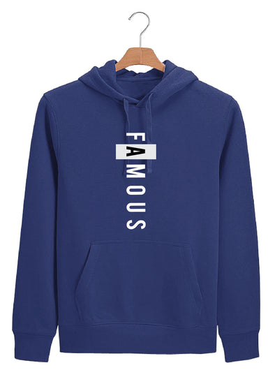Famous Men Royal Blue Hoodie