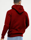 Normal People Scare Me Men Maroon Hoodie