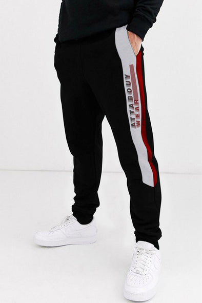 Attabouy Wear Black Men Joggers