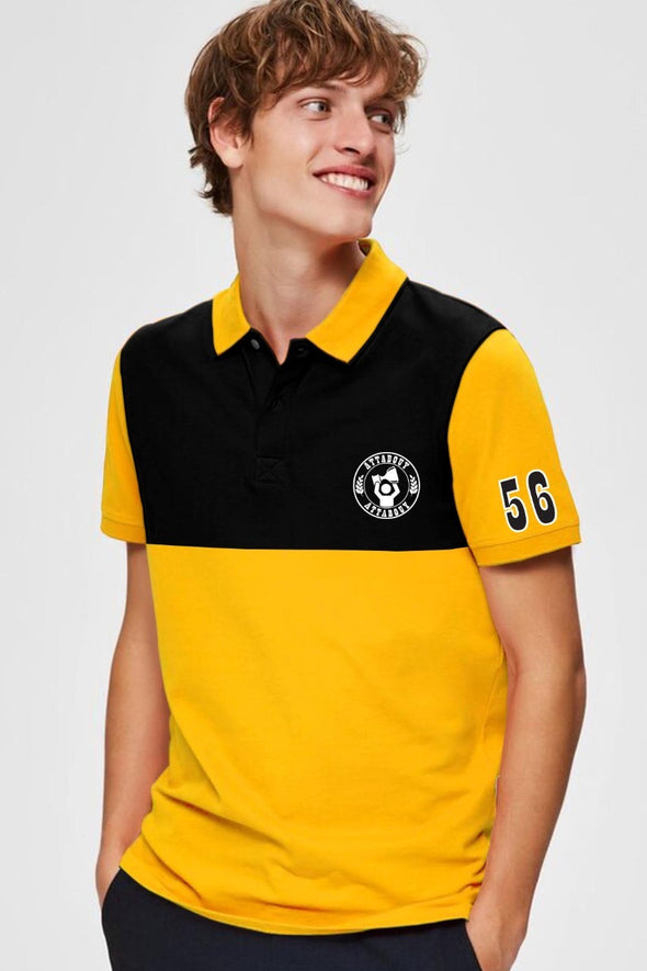 56 Attabouy Men Polo Tshirt