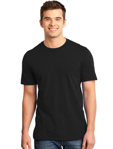 Plain Black Men Half Sleeves Tshirt