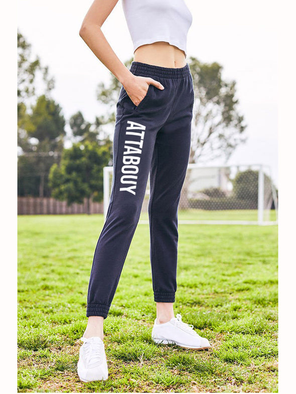 Attabouy Navy Blue Joggers