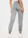 Solid Grey Plain Joggers
