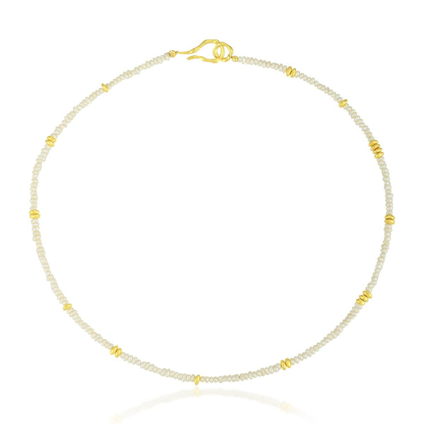 Beaded Together Pearl Necklace NECKLACE ARVINO