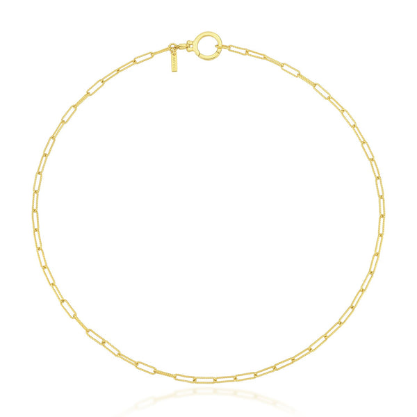 Bevelled Chain Necklace NECKLACE ARVINO