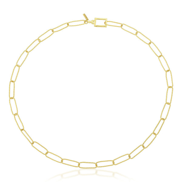 Dainty Paperclip Chain Necklace NECKLACE ARVINO