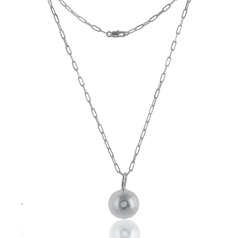 Metal Ball Chain NECKLACE ARVINO SILVER
