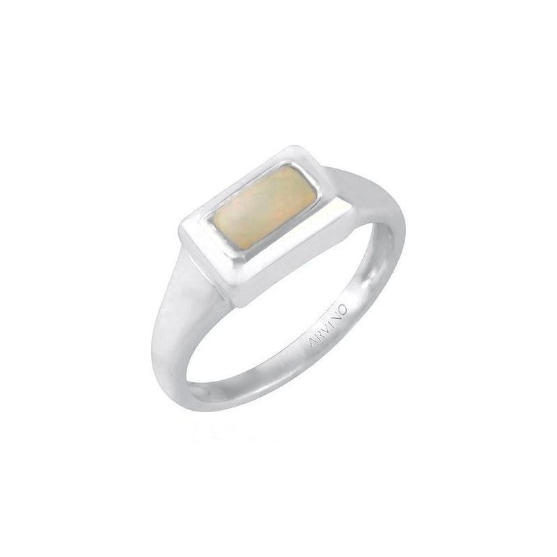 Nacre Ring (Pearl) RING ARVINO SILVER 5
