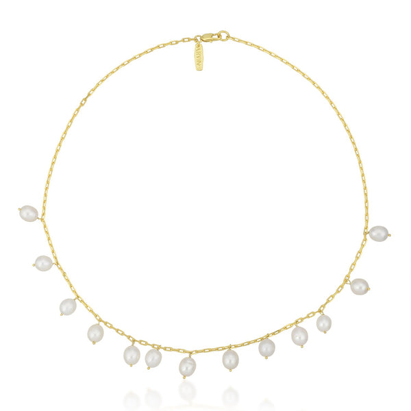 Rain Of Pearls Necklace NECKLACE ARVINO