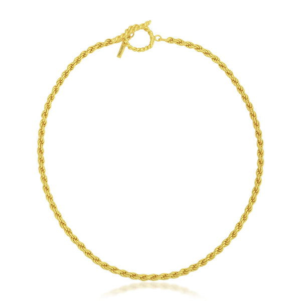 Rope Chain Choker Necklace NECKLACE ARVINO